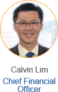 Calvin Lim - Chief Financial Controller