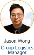 Jason Wong - Group Logistics Manager