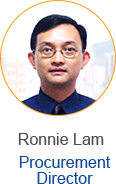 Ronnie Lam - Procurement Director