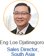 Eng Loe Djatinegoro - Sales Director, South Asia