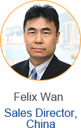 Felix Wan - Sales Manager, China